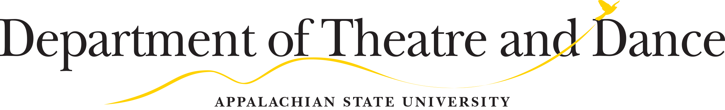 department of theatre and dance logo