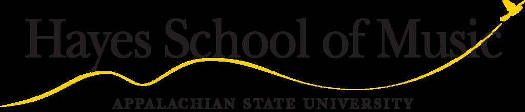 Hayes School of Music at Appalachian State University logo