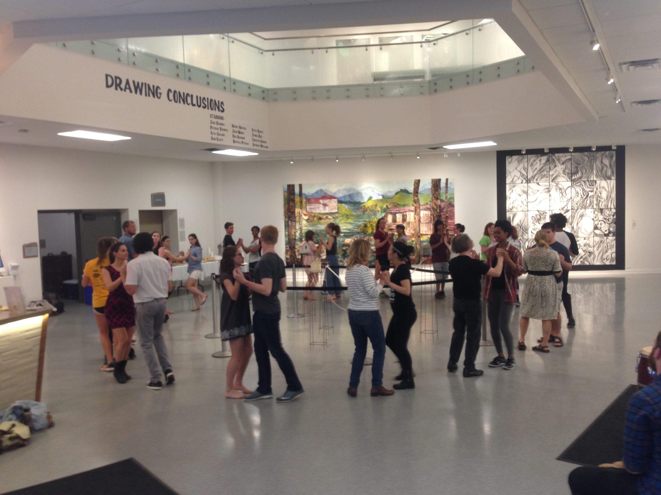 "Contra Tiempo ""Rueda Community Dance"" at the Schaefer Center, 2016"