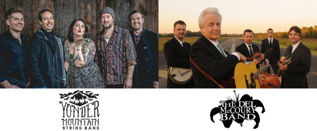 Yonder Mountain String Band and The Del McCoury Band
